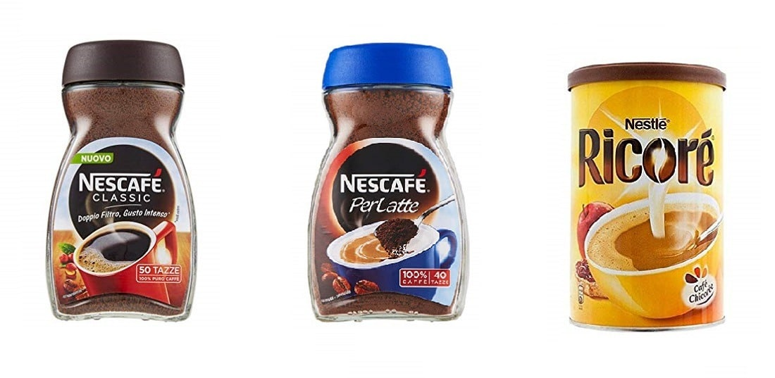 caffè istantanei