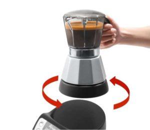 caffettiera elettrica de longhi