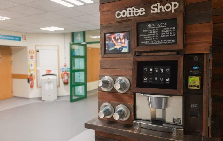 Distributori automatici di caffè: un pò distoria