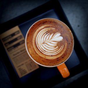 latte art cappuccino