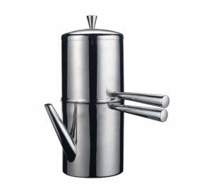 caffettiera napoletana ilsa in acciaio