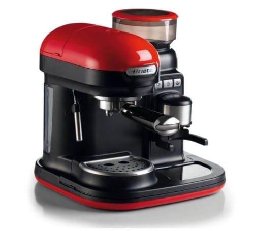 macchina per caffè espresso con macinacaffè integrato ariete 1318