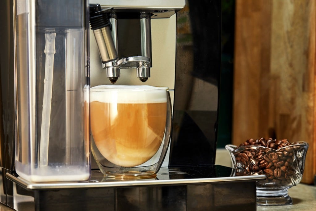 macchina da caffè automatica in grani