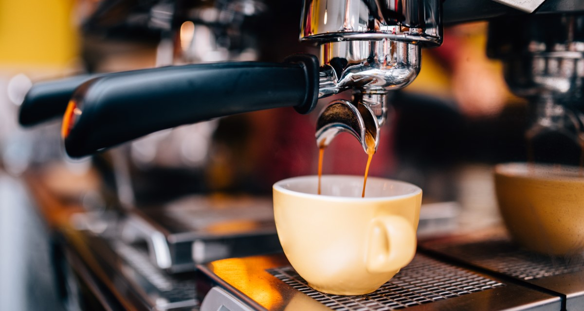 pressione e bar macchina caffè